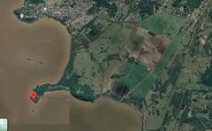 Área destacada no mapa mostra a fazenda, na zona Sul da Capital (Foto: Divulgação CMPA)