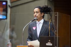 Vereador Matheus Gomes (PSOL)