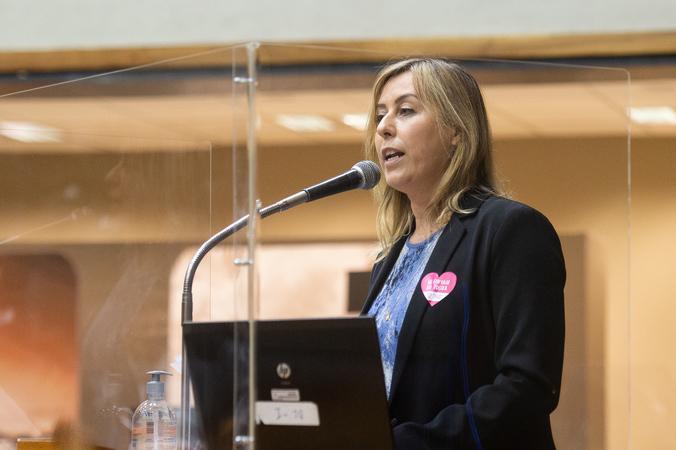 Vereadora Fernanda Barth