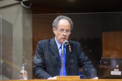 José Luiz Feijó, que teve paralisia infantil, falou sobre a importância da vacinação para erradicação da doença