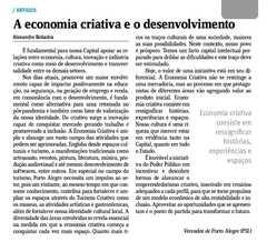 Artigo publicado no Jornal do Comércio 18/10/2021