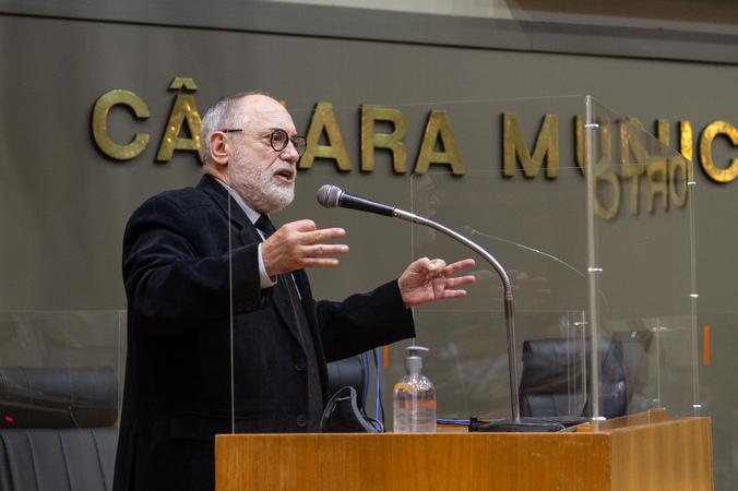 Sessão ordinária - Vereador Pedro Ruas (Foto: Ederson Nunes/CMPA)