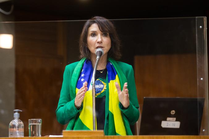 Sessão ordinária - Vereadora Comandante Nádia (Foto: Ederson Nunes/CMPA)