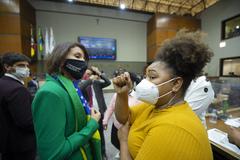 Manifestações em plenário