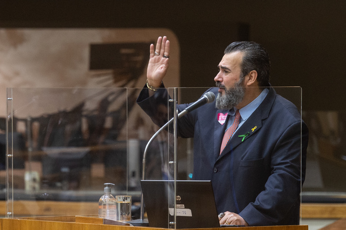 Sessão ordinária - Vereador Claudio Janta