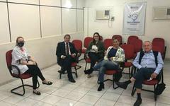 Visita da Vereadora Fernanda Barth ao Banco de Alimentos.