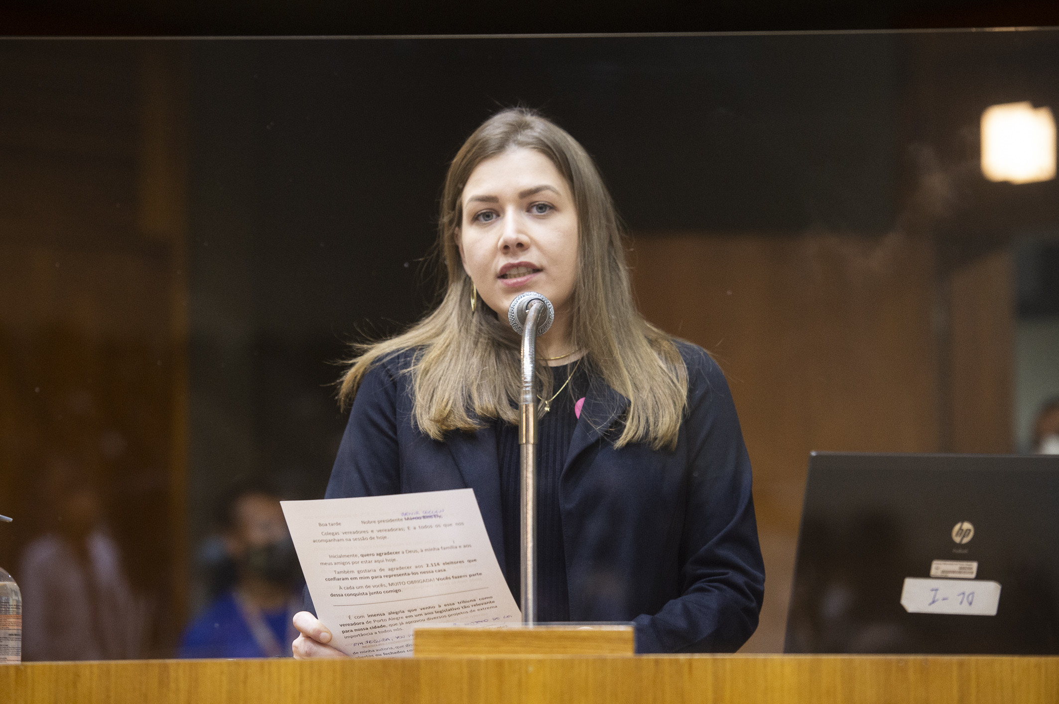 Vereadora Camila Nunes (MDB)
