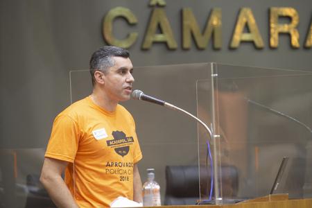 Elias Machado destacou que várias delegacias de polícia contam com apenas um agente de segurança