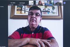 Reunião sobre Semana da psoríase e dermatite atópica.