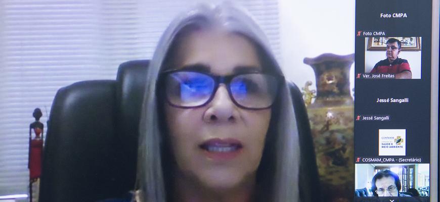 Gládis Lima ressaltou que a Psoríase Brasil atua há mais de 20 anos em prol de políticas públicas para a questão