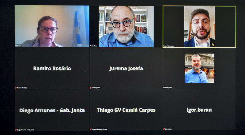 CCJ - Reunião para apreciação de pareceres, aprovação de redações finais e distribuição de projetos para relatar. (Foto: Martha Izabel/CMPA)