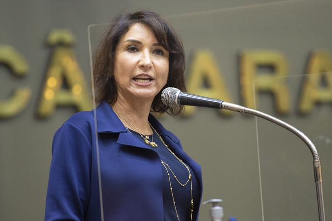 Retrato - Vereadora Comandante Nádia (Foto: Elson Sempé Pedroso/CMPA)