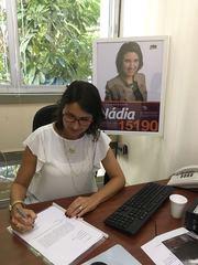 Vereadora Comandante Nádia (PMDB) protocolou pedido de informação ao prefeito Marchezan.