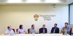 Vereador Dr. Goulart participa de encontro com Secretário Municipal da Saúde