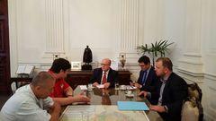 Vereador Carús reúne-se com secretário de Segurança do RS