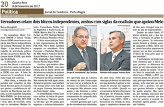 Jornal do Comércio - edição de 08/02/2017