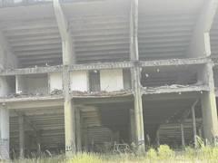 Providências no entorno da área do Estádio Olímpico entre os bairros Azenha e Menino Deus.  Foto : Carlos Paixão