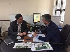 Professor Wambert e Ramiro Rosário