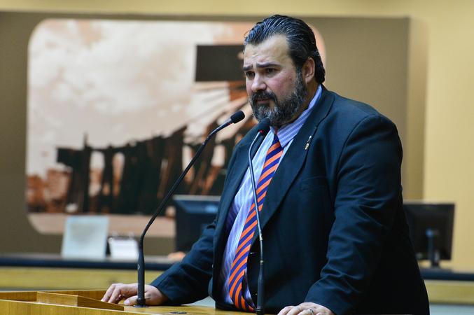 Na foto: Vereador Cláudio Janta