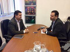 Em visita ao secretário Ricardo Gomes, Professor Wambert discute o empreendedorismo em Porto Alegre.