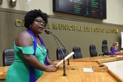 Laura Sito, vereadora suplente do PT