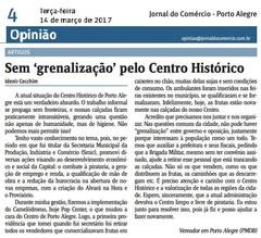 Jornal do Comércio - edição de 14/03/2017