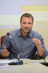 Primeira Reunião da Frente Parlamentar do Idoso. Na foto, o vereador Mendes Ribeiro.