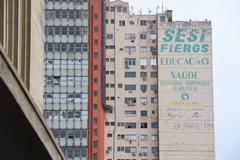 Projeto altera regras para publicidade em paredes de prédios