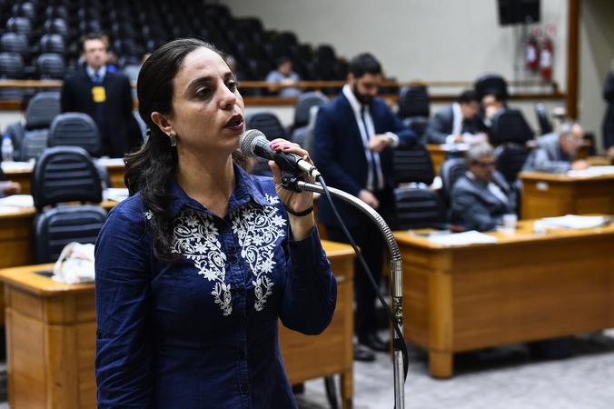 Na foto, vereadora Fernanda Melchionna