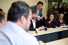Reunião Conjunta CCJ, CEFOR e CUTHAB sobre a política salarial dos servidores municipais.
