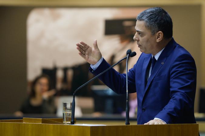 Na foto, vereador Cassio Trogildo.